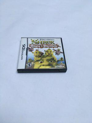 Videojuego Nintendo Ds Shrek Ogres & Dronkeys