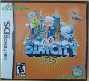 Videojuego Simcity Ds Para Nintendo Ds, 2ds Y 3ds, Original