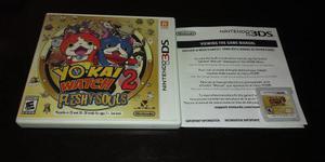 Yo Kai Watch 2 Fleshy Souls Para 3ds Y 2ds Y Juego De Regalo
