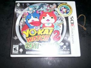 Yo-kai Wach 2 Bony Spirits Nintendo 3ds Nuevo Y Sellado 2ds