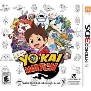 Yo-kai Watch Nintendo 3ds Nuevo Y Sellado Msi