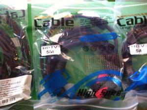 vendo cables nuevos de alta calidad y resistencia HDMI