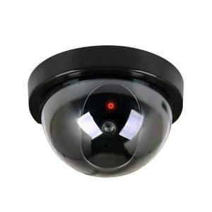 9 Piezas Camara De Seguridad Falsa Vigilancia Mini Domo Led