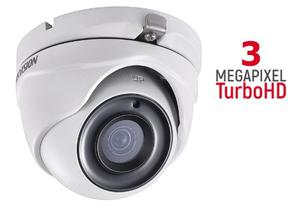 Camara Domo 3 Mp Metal Gran Angular 2.8mm Exterior Hikvision
