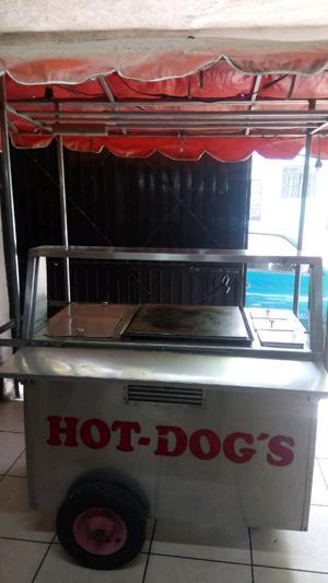 Carrito para hotdogs