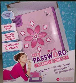 Diario Secreto Mattel  Abre Con Voz My Password
