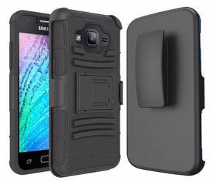 Funda Case Con Clip Samsung Galaxy J5 Negra *envio Gratis*