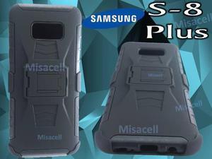 Funda Clip Uso Rudo Samsung S8 Pluss Alto Impacto + Envió:)