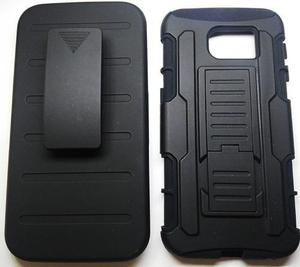 Funda Clip Uso Rudo Tipo Robot Samsung Galaxy S6 G920