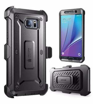Funda Galaxy Note 5 Clip Holster Supcase Unicorn Beetle Pro