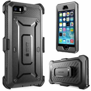 Funda Iphone Se 5s 5 Supcase Unicorn Beetl Holster Clip Rudo