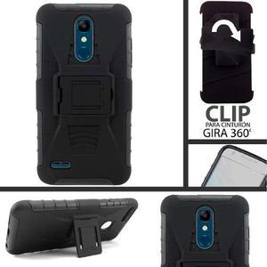 Funda Lg V20 K8 K10 K11 Q6 Q7 Prime Protector Uso Rudo Clip
