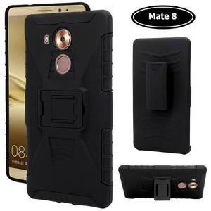 Funda Mate 8 / 9 / 10 Lite Huawei Con Cristal Case Uso Rudo