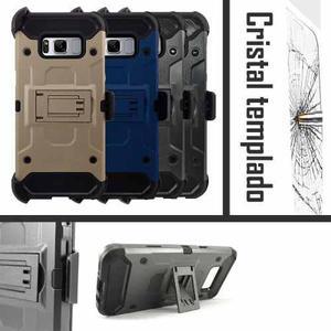 Funda Protector Uso Rudo Clip Cristal Samsung S8 Plus G955