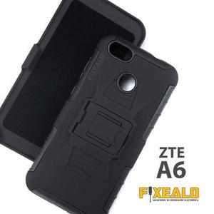 Funda Protector Uso Rudo Resistente Case Con Clip Zte A6