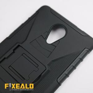 Funda Protector Uso Rudo Resistente Con Clip Lanix X710