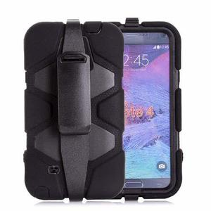 Funda Tipo Survivor Antigolpes Galaxy Note 4 Clip Uso Rudo