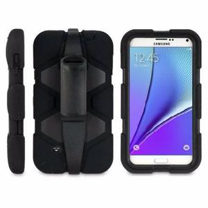 Funda Tipo Survivor Antigolpes Galaxy Note 5 Clip Uso Rudo
