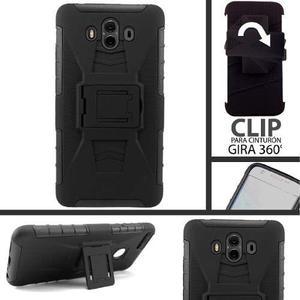 Funda Uso Rudo Clip Resistente Huawei Mate 10