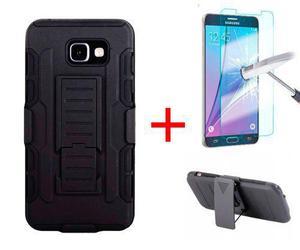 Funda Uso Rudo Clip Samsung Galaxy A5 2016 + Mica Cristal