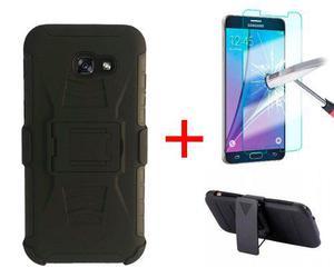 Funda Uso Rudo Clip Samsung Galaxy J5 Prime + Mica Vidrio