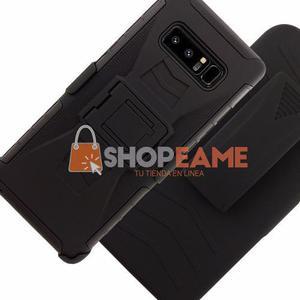 Funda Uso Rudo Resistente Clip Samsung Note 8