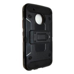 Funda Uso Rudo Robot Case Clip Motorola Moto G5s Plus