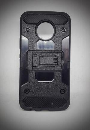Funda Uso Rudo Robot Case Con Clip Motorola Moto E4