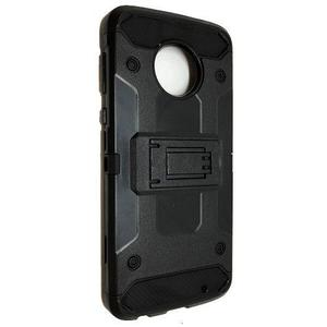 Funda Uso Rudo Robot Case Con Clip Motorola Moto G6 Plus