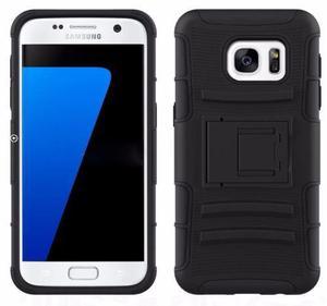 Funda Uso Rudo Samsung Galaxy S7 Edge Con Clip Cinturon