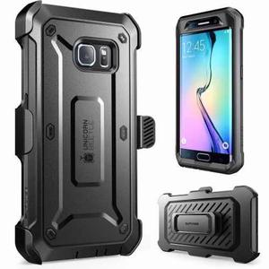 Galaxy S6 Edge Funda Holster Clip Supcase Unicorn Beetle Pro