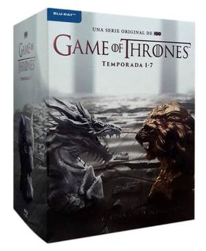 Game Of Thrones Juego Tronos Temporadas 1 - 7 Boxset Blu-ray