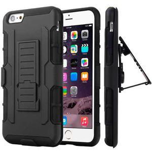 Iphone 6, 6s Funda Protector Uso Rudo Clip Tipo Survivor