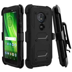 Motorola Moto E5 / G6 Play Funda Protector + Clip Uso Rudo