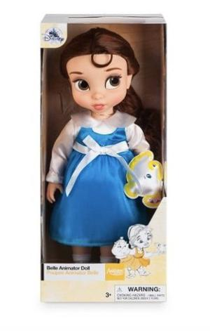 Muñeca Princesas Bella Bebé Disney Store Animators