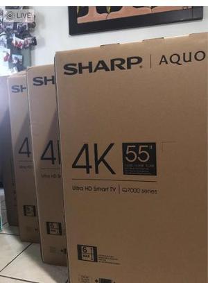 Remate Sharp Aquos 55 4k Ultra Hd Smart Tv