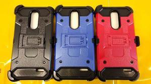 Zte Grand Z956 X4 Funda Protector De Uso Rudo Con Clip