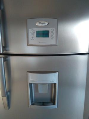 refrigerador whirlpool 22 pies acero inoxidable