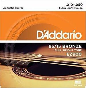 2 Juegos Cuerdas Guitarra Acústica Daddario Ez !