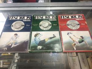 Colección monedas de plata LEY  del mundial mexico 86