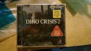 Dino Crisis 2 Para Ps1 Japones