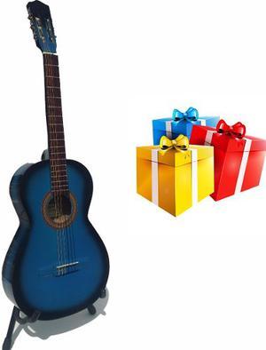 Guitarra Acústica Tercerola Infantil Con Paquete De