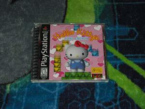 Hello Kitty Cube Frenzy Muy Buen Estado Ps1