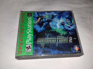 Juego Syphon Filter 2 Sony Ps1 Psx Ps2