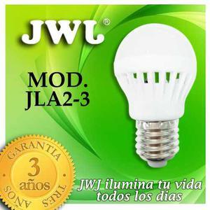 Jwj Foco Led Bulbo 3w -  K° Luz Cálida