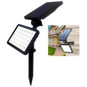 Lampara Solar 48 Led Exterior Jardin Pared Potente 960lm