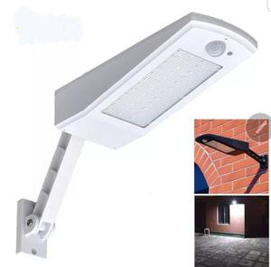 Lampara Solar Led Recargable Sensor Movimiento 900 Lumenes