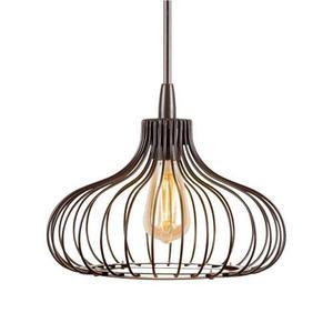 Lámpara Philips Colgante Gabbia Redonda Grande Vintage 16