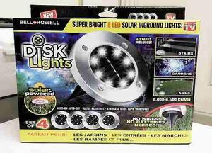 Luz Led Disk Lights Nuevo En Caja