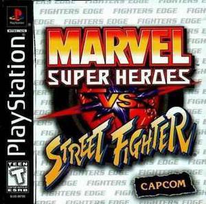 Marvel Vs Street Fighter Ps1